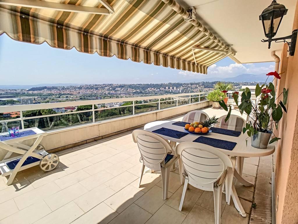 VENTE Appartement 4P 128M2 Nice Corniche Fleurie 152m2 Terrasse VUE panoramique!
